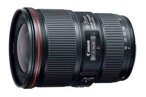 Canon EF 16-35mm f/4 IS USM, image from Canon press release
